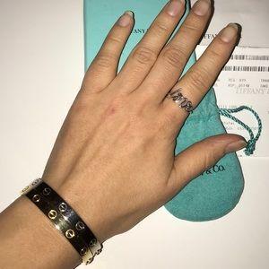 Tiffany & Co. Jewelry - Tiffany & Co. Graffiti Love Ring size 7
